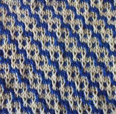 Spring knitting stitches