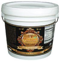 Organic Gold Label Virgin Coconut Oil 1 gallon pail coconut oil photo