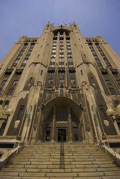 The Masonic Temple  Detroit, MI