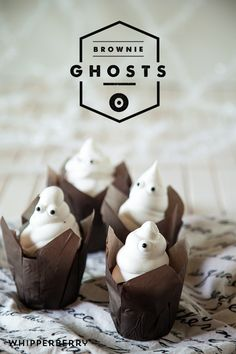 Brownie Ghosts by WhipperBerry @pillsburybaking