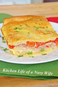 Italian Sandwich Bake