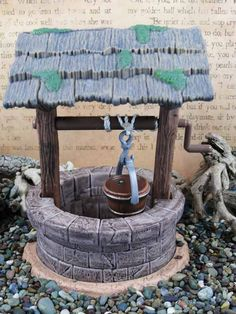 Wishing Well - $14.95  Bring the magic of ancient wishing wells into your home and garden