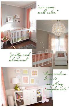 Fav colors for little girls room!