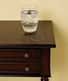 How to remove water rings.