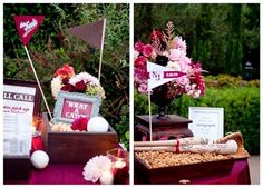baseball themed weddings