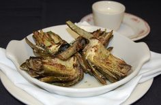 Grilled Marinated artichokes....