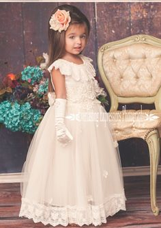 Exquisite Angel Flower Girl Dress