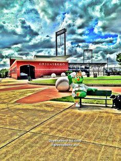 Greensboro Grasshoppers Single-A  Minor League Baseball Team   Stadium NewBridge Bank Park  408 Bellemeade St, Greensboro, NC northcarolina
