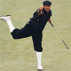 Payne Stewart  (love his knickers!)   ......... Golf