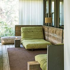 color, beach houses, screen porch, patio, screened porches