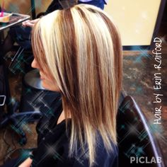 #Chunky #Highlights #Lowlights #Blonde #Hair #Dramatic