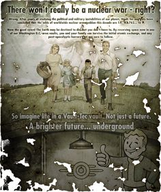Vault-Tec ad from #Fallout 3