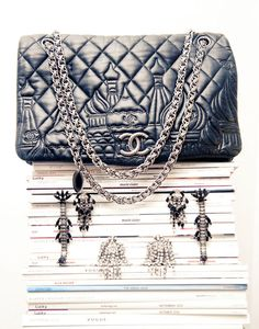 Rare Chanel on The Coveteur - The Keemlin of Moscow Russia in the embossing :)