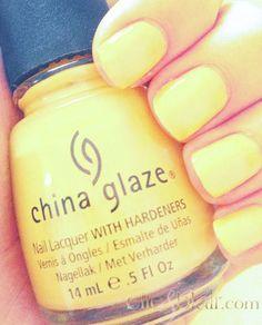 China Glaze Sunshine Pop