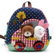 mochilas para niños, artesanato, infantil, felt bags, bolso