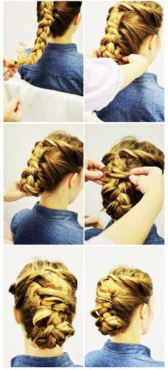 boho chic, messy hair, hair howto, braid, long hair, wedding hairs, hair style, hairstyl, chic style