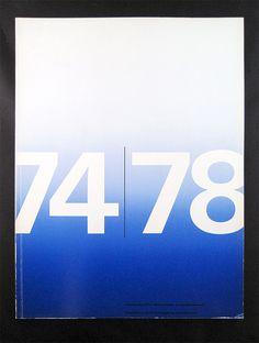 Stedelijk Museum 1974-1978 — Wim Crouwel