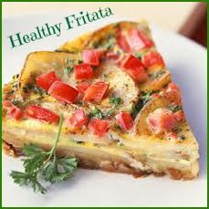 Healthy Fritata with only 5 simple ingredients. Found in Eat, Drink and Shrink - over 120 delicious, fat-burning recipes with only 5 ingredients or less.
