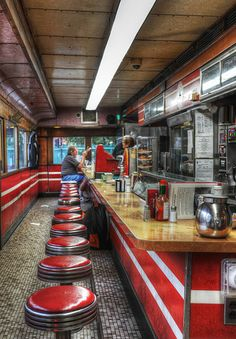 Mickey's Dining Car (by andertho)  St. Paul, Minnesota.