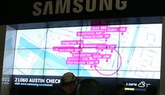 SXSW Interactive 2012: Samsung #SmartWall in the 1st floor at the Austin Convention Center. You won't wanna miss it. $0 !