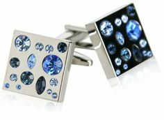 Too Blue Crystal Cufflinks by Cuff-Daddy Cuff-Daddy. $29.99. Made by Cuff-Daddy. Arrives in hard-sided, presentation box suitable for gifting.. Save 57% Off!