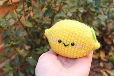 Lemon cute Amigurumi Free pattern!