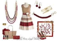 """Hot Fall Color - Sangria! So many ways to wear this gorgeous """"Work It"""" Necklace and I love the Corded bracelet - major Fall must have! bracelets, colors, necklaces, sangria"""
