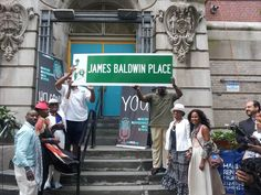 Street sign to honor James Baldwin is delayed.