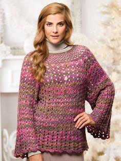 Winter sweaters to crochet