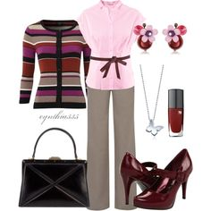 """""""The Office"""" by cynthia335 on Polyvore"""