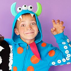 Lots of easy DIY costumes for Halloween.