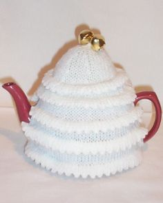 Christmas Tree (white) Tea cosies for sale from tea cosy folk
