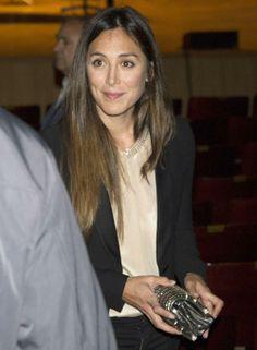 Tamara Falcó en un concierto de Juan Losada