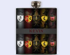 Game Of The Thrones, Flask,  Personalized Custom Flask, game of thrones,