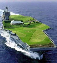 Now this is a golf course................
