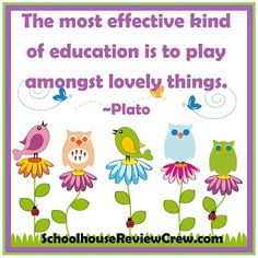 play amongst lovely things . . . #plato #quotes #education #inspiration