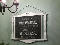 Chalkboard with Spindles