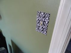 Loopy Loop Creations: Covered Light Switch Plates