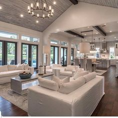 "Interior Design & Home Decor on Instagram: ""How Amazing is this home?!😍😍1-10 via @ourfloridafishhouse  #livingroomdesign #homestaging #newhome #casa #farmhousestyle…"""