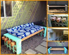 outdoor benches, backyard
