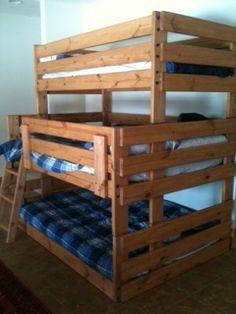 Twin Full Full Triple Bunk Beds