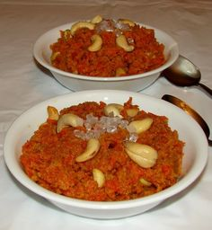 Carrot Pudding in Nepal