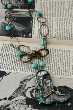 Cowgirl Up Boot Necklace Number One
