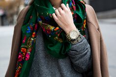 style, accessori, shawl, outfit, collag vintag, 4220 chrono, scarves, scarf, vintage flowers