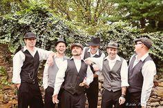 Gatsby groomsmen