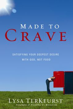 Has food become more about frustration than fulfillment? Made to Crave is the missing link between a woman's desire to be healthy and the spiritual empowerment necessary to make that happen. Author Lysa TerKeurst personally understands the battle that women face.
