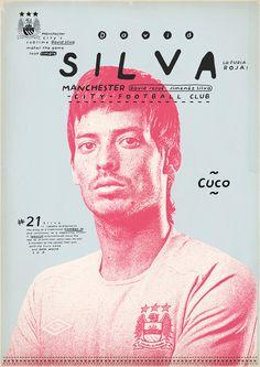 football poster by Zoran Lucić