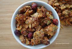 Gourmet Girl Cooks: Coconutty Cranberry-Apple Granola -- 100% Grain Free