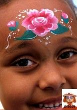 Forehead rose