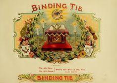 Binding Ties Masonic Freemason Freemasonry Cigar Label 13x19 Print | eBay